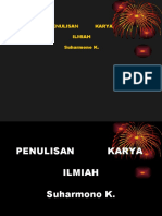 Bahasa Indonesia(Karya Ilmiah)