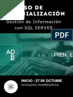 I Curso de especialización Gestión de Información con SQL Server-fusionado (1)