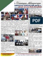informativo 2015.1 - Escola Domingos Albuquerque