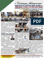 informativo 2015.2 - Escola Domingos Albuquerque