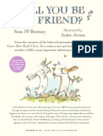 Will You Be My Friend? by Sam McBratney & Anita Jeram Press Kit