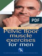 Pelvic Floor Muscle Exercises for Men