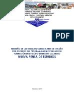 REDISEÑO DE UNIDADES CURRICULARES DE 1ER AÑO POR DOCENTES DEL PROGRAMA MUNICIPALIZADO DE FORMACIÓN EN DERECHO-EXTENSIÓN CALABOZO. NUEVA PENSA DE ESTUDIOS.pdf