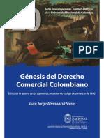 Genesis Del Derecho Comercial Colombiano