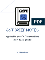 gst notes demo
