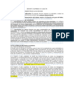 DECRETO SUPREMO 011 2020-TR
