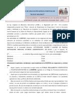 carta de compromiso 2020