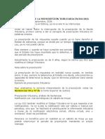 DSQ Interrupción de la prescripción tributaria en Bolivia