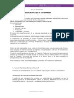 AREAS FUNCIONALES DE LA EMPRESA 2