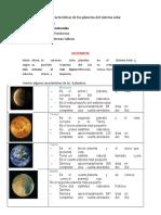 3° guia 6 ciencias conocer caracteristicas de los planetas