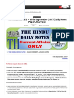 The Hindu Notes @Gk today
