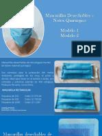Mascarillas Desechables – Notex Quirúrgico