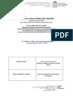 Programa Teorías de la Cultura Politica 2018-3 revisisado