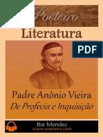 De Profecia e Inquisicao - Padre Antonio Vieira - Iba Mendes