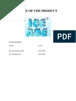 Ice Age Report