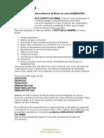 Resumen de la videoconferencia de Minera de cobre QUEBRADONA