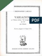 Variazioni su l'arietta italiana (sul margine di un rio) op.142 Ferdinando Carulli.pdf