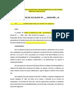 RESOLUCIÓN DE ALCALDÍA PARA EL RECONOCIMIENTO DE LA OC
