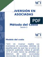 INVERSIÓN EN ASOCIADAS - Método del Costo.ppt