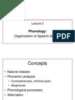 General Linguistics - Week 3 Lecture