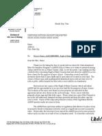 2007Roe&Letter From Mark in Re Landowner Status