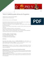 São Pio V - Católicos de Curitiba_ Terço e Ladainha pelas Almas do Purgatório.pdf
