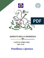 San Giorgio 2020 Masci Lazio