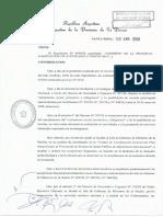 Decr764 (LP) Exceptuar Actividades y Protocolos