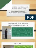 FACULTAD DE CRIMINOLOGIA Y CRIMINALISTICA UPAV