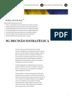 Rubens Barbosa - 5G DECISÃO ESTRATÉGICA