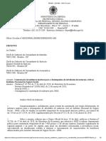 Ofício Circular n° 608-DIPMIL-DEPES-SEPESD-SG-MD - Militares no INSS