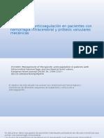 reinicio anticoagulacion