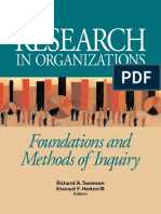 Richard Swanson_ Holton III - Unknown - An Excerpt From Research in Organizations Foundations and Methods of Inquiry.pdf