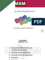 Semana N° 12 [ Análisis Matemático IV ]