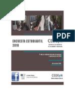 Informe Encuesta Estudiantil 2010
