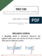 2 - SIMPLE STRESSES (SHEARING) (1)