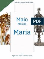 Celebração do Início de Mês de Maria