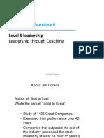 Leadership  Laboratory  6 Coaching.ppt