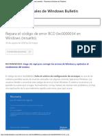 Repare el código de error BCD 0xc0000034 en Windows (resuelto) - Tutoriales de