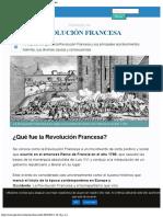 Revolución Francesa - Historia, Causas y Consecuencias
