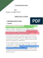 APUNTES DE DERECHO DE FAMILIA 1
