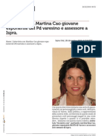 Www.varese7press.it Inter Vista Con Martina Cao Giovane Esponente Del Pd Varesino e Assessore a Ispra