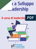 Corso on-line di sviluppo della leadership