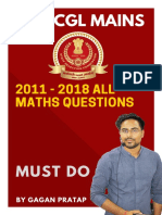2011 to 2018  SSC CGL MAINS  ALL MATHS QUESTIONS BY GAGAN SIR.pdf