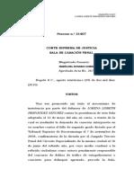 Sentencia 31407 (25-08-10)