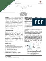 INFORME 1  ELECTRONICA DE POTENCIA RELEVO ELECTROMAGNÉTICO TERMINADO