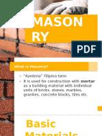 Division 4 Masonry