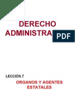 LECC 7 - ORGANOS Y AGENTES ESTATALES (1)