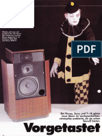 Lautsprecher Agora B 1984