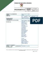 CONTENIDO PROGRAMATICO CALOR Y ONDAS 2020-1